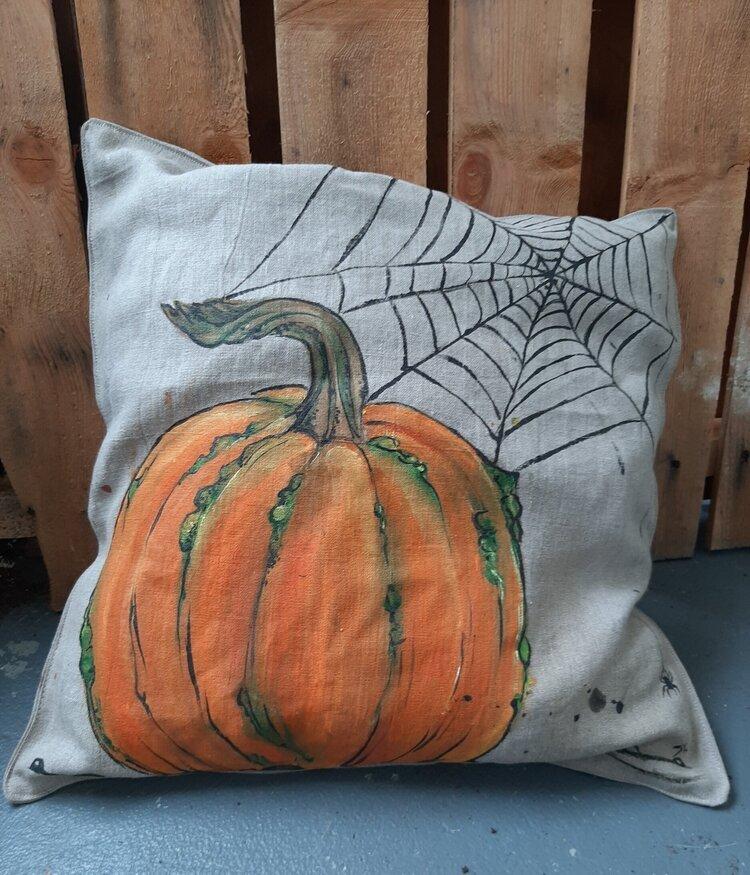 Pumpkin pillow part 2