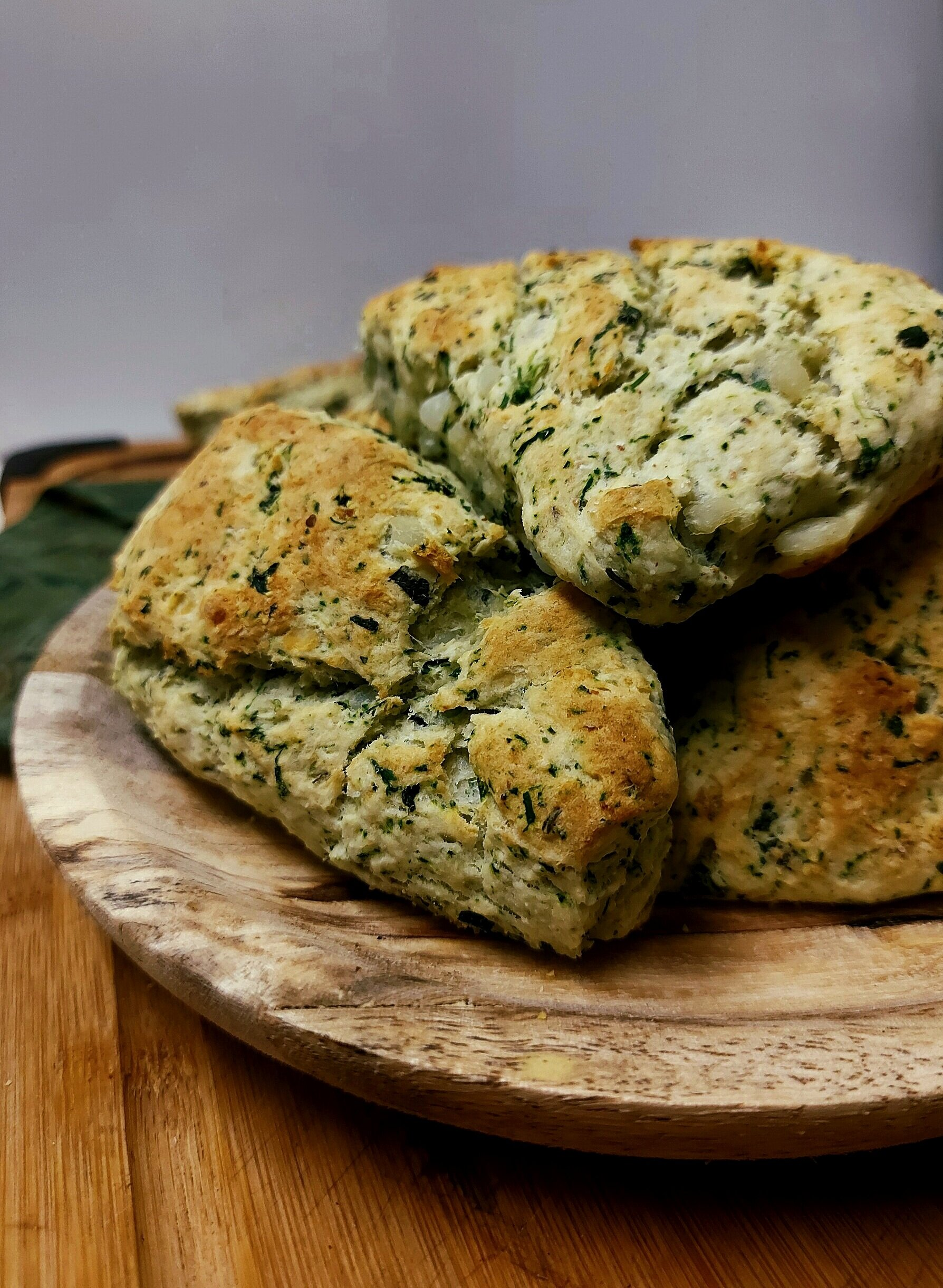 How to make Stinging Nettle Potato Biscuits