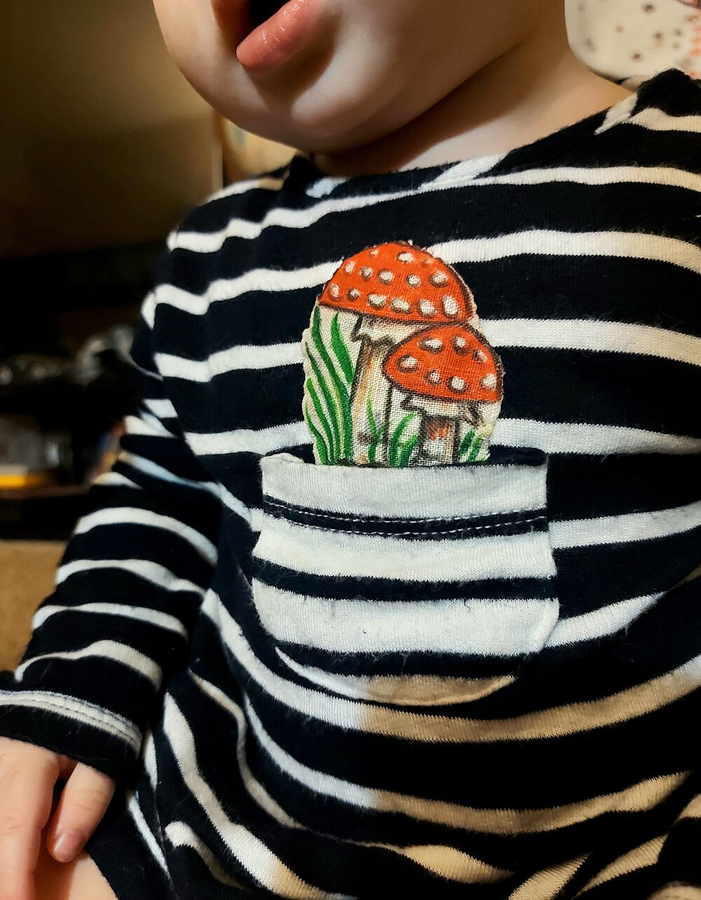 Refreshing Thrifted Kids Clothes : Custom Applique